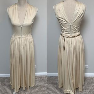 VTG Greek Goddess Toga Dress
